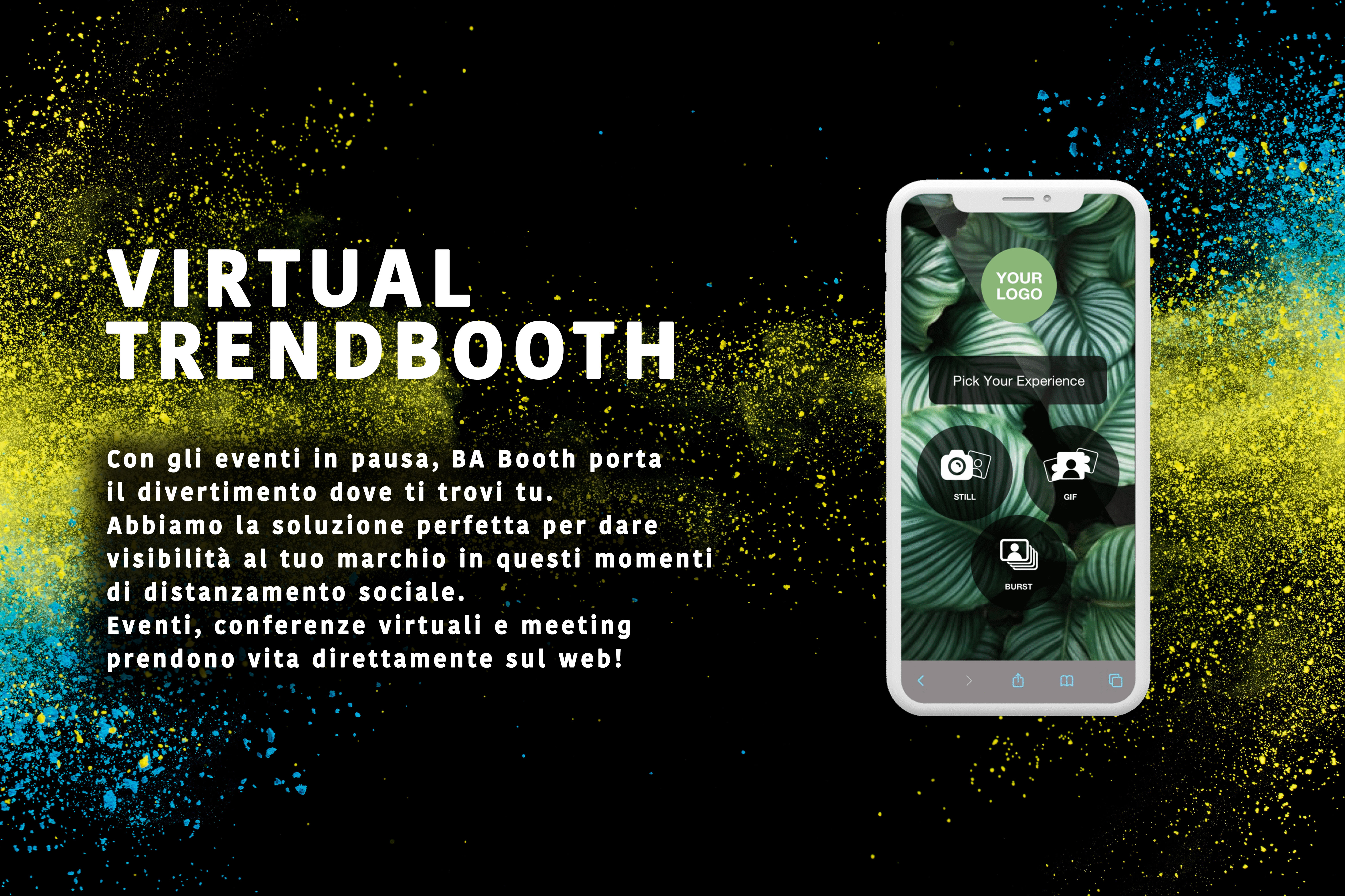 Virtual Trend booth